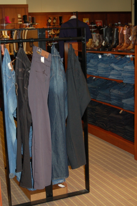 Denim in many washes and hues