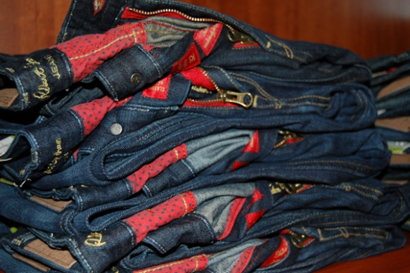 Robert Graham denim, new at The Foursome fall 2013