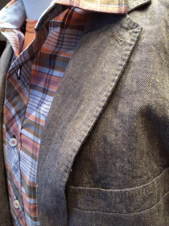 Tommy Bahama slub texture linen sportcoat